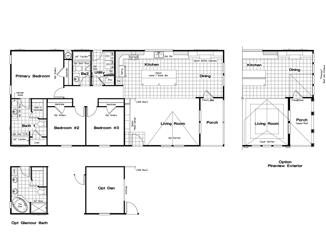 The CK602F Floor Plan