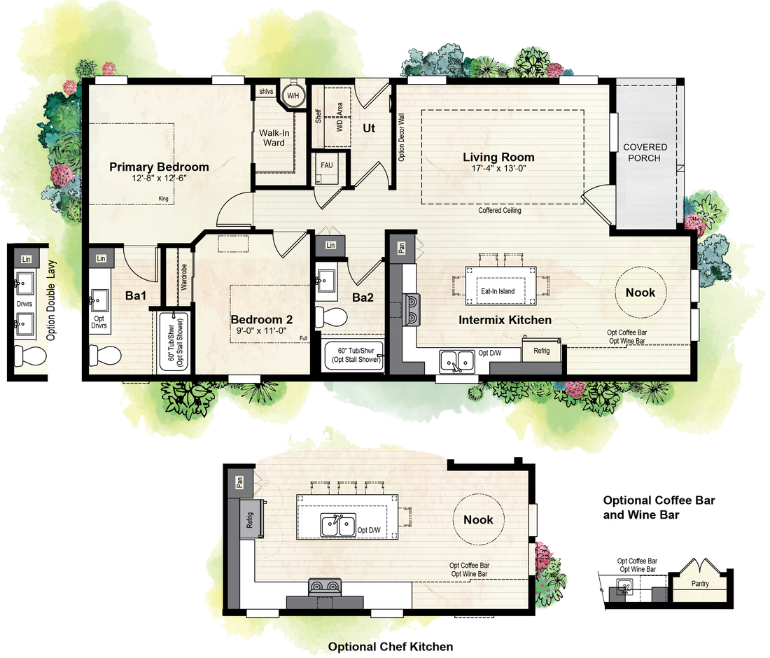 The GPII-2448-3B SAN JUAN Floor Plan
