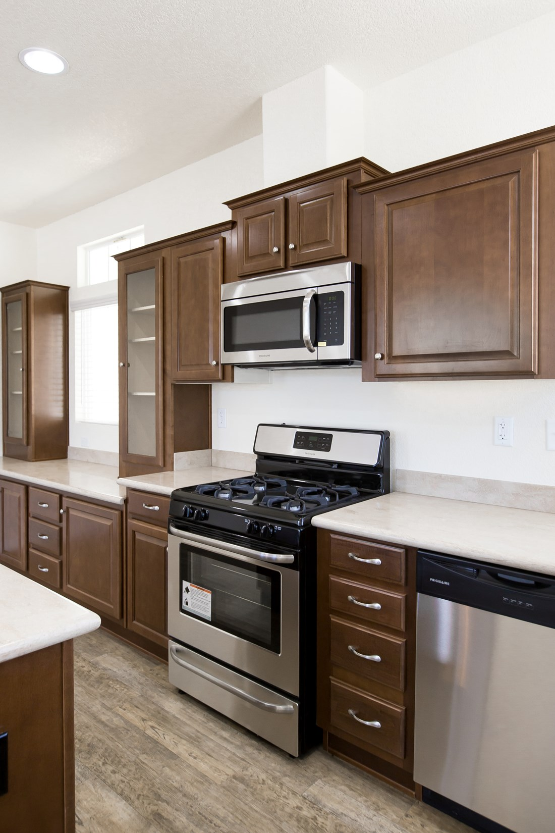 The CK501A Kitchen. This Manufactured Mobile Home features 3 bedrooms and 2 baths.
