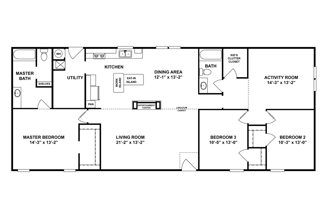 The CK661F Floor Plan