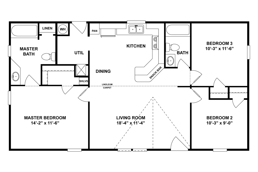 The GE441A Floor Plan
